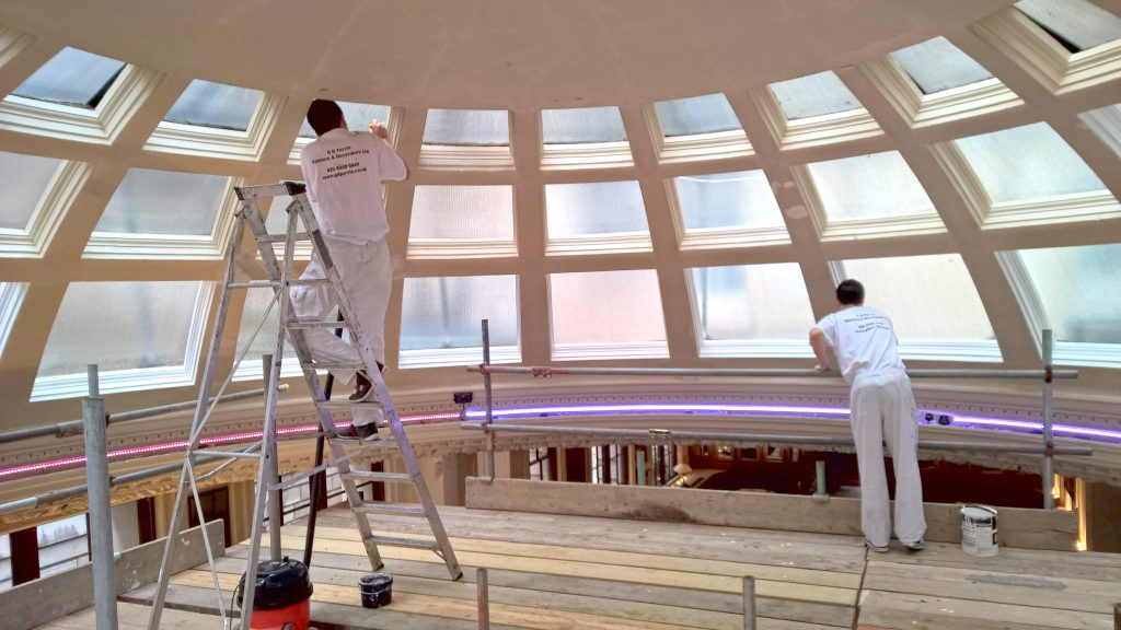 Commercial Painting Contractors - Parvin Contractors London
