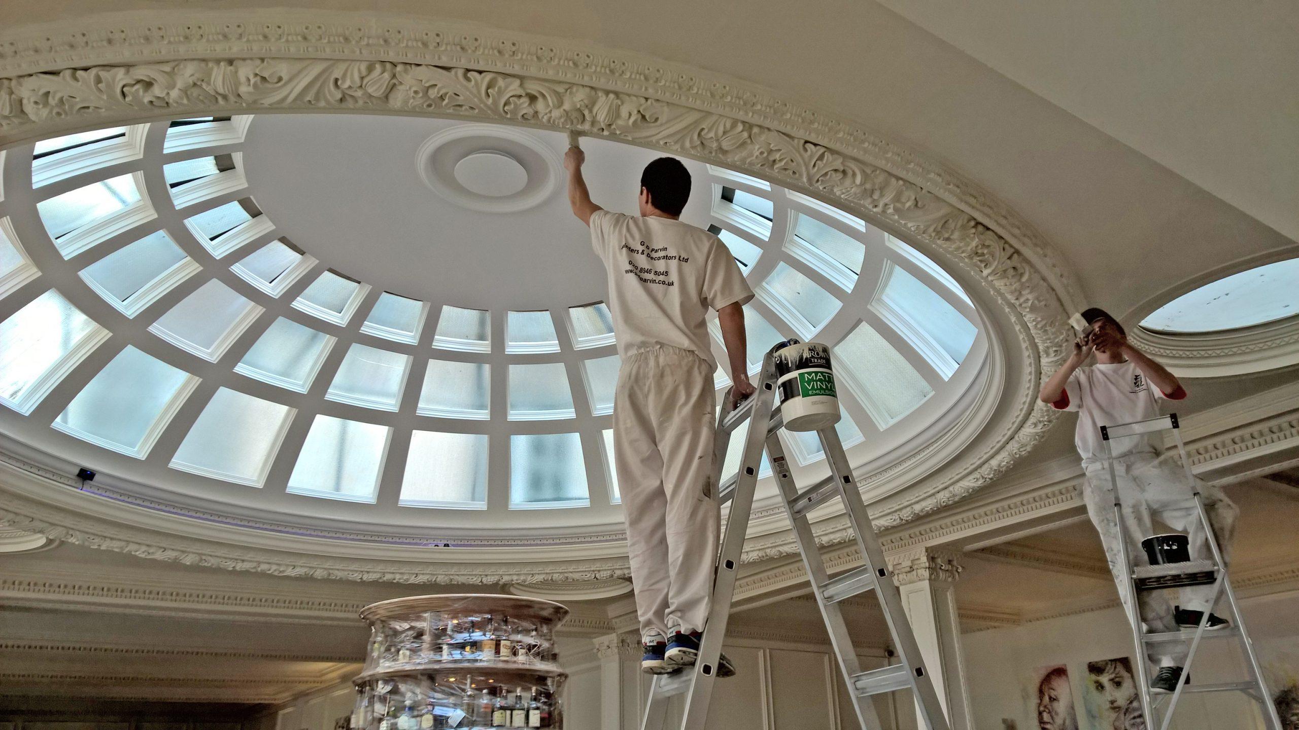 Commercial Painting Contractors - Parvin Contractors London