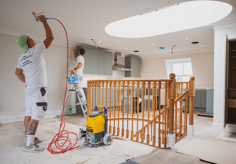 parvin contractors residential painting and decorating london